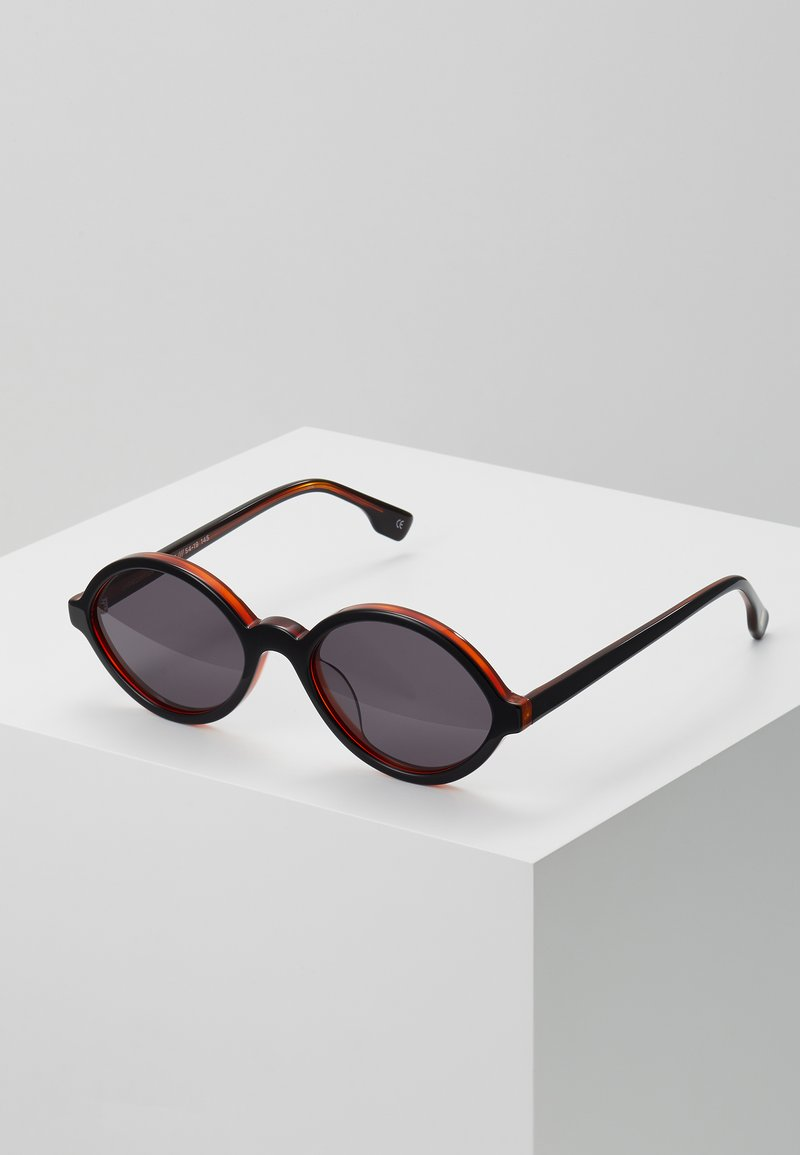 Le Specs - IMPROMTUS - Sunglasses - black/honey