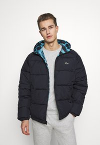 Lacoste - LACOSTE X NATIONAL GEOGRAPHIC - Winter jacket - frog/abysm - 3