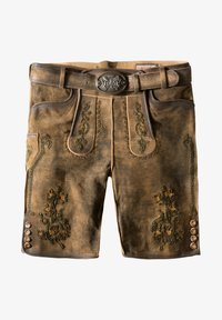Stockerpoint - WIGGAL - Leather trousers - beige - 7