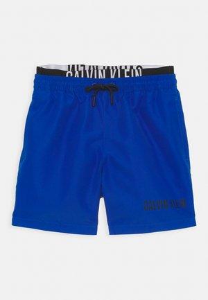 MEDIUM DOUBLE WAISTBAND - Swimming shorts - bobby blue