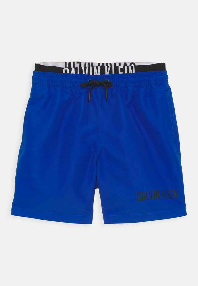 MEDIUM DOUBLE WAISTBAND - Zwemshorts - bobby blue
