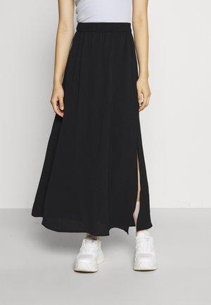 VMSAGA SLIT SKIRT  - Áčková sukně - black