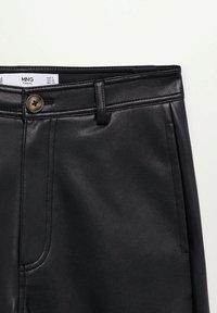 Mango - CAMILLA - Trousers - svart - 6