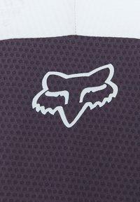 Fox Racing - DEFEND - T-shirt z nadrukiem - dark purple - 3