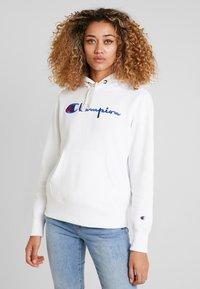 Champion Reverse Weave - HOODED - Kapuzenpullover - white - 0