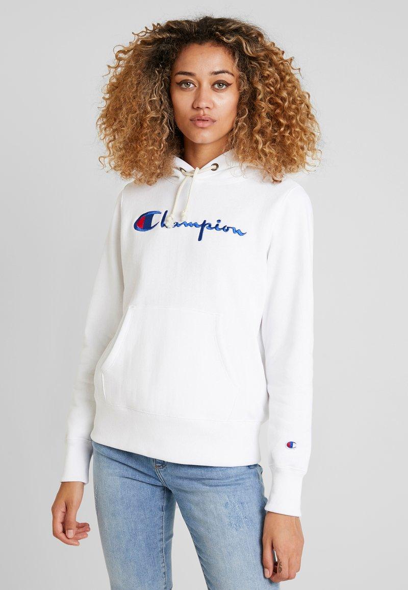 Champion Reverse Weave - HOODED - Kapuzenpullover - white