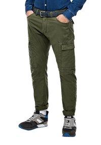 s.Oliver - Cargo trousers - khaki - 3