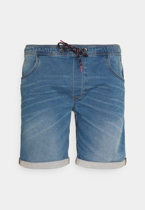 Farkkushortsit - denim middle blue