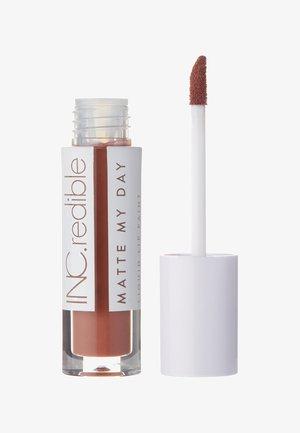 INC.REDIBLE MATTE MY DAY LIQUID LIPSTICK - Liquid lipstick - 10065 i am great thanks