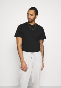 Only & Sons - ONSMILO LIFE TEE - T-shirt med print - black - 2