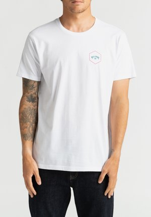 ACCESS - T-shirt con stampa - white