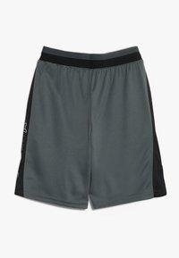 Under Armour - STUNT 2.0 SHORT - Sports shorts - pitch grey/white - 1