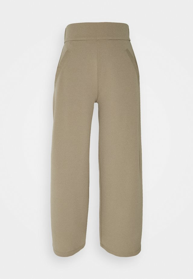 JDYLOUISVILLE CATIA PANT  - Broek - lead gray