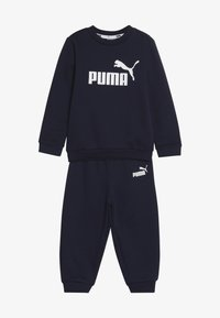 Puma - CREW BABY JOGGER SUIT - Tepláková souprava - peacoat - 5