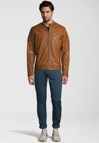 Capitano - IOWA - Leather jacket - cognac - 1