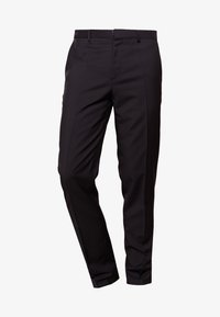 HUGO - HARTLEYS - Pantalon de costume - black