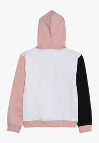 Guess - JUNIOR EXCLUSIVE ACTIVEWEAR - Mikina skapucí - grey/light pink - 1