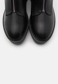 Even&Odd Wide Fit - Kotníková obuv - black - 5