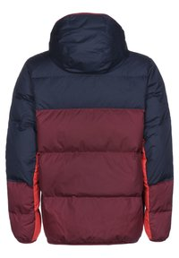 Nike Sportswear - SHIELD  - Down jacket - midnight navy / dark beetroot / black - 1