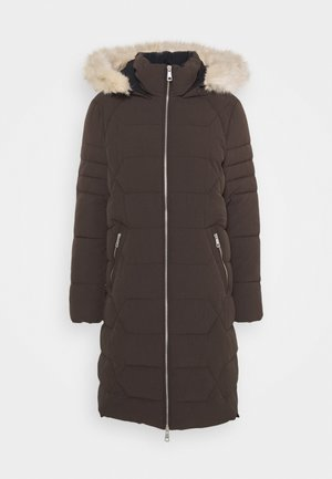 Winter coat - dark brown