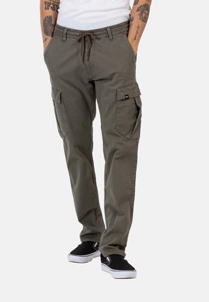 REFLEX EASY - Cargo trousers - olive