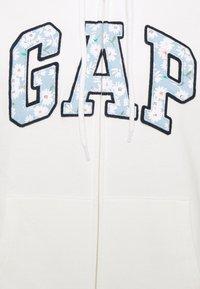 GAP - NOVELTY - Felpa aperta - milk - 2