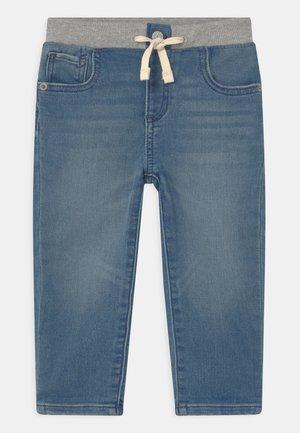 UNISEX - Skinny džíny - light-blue denim
