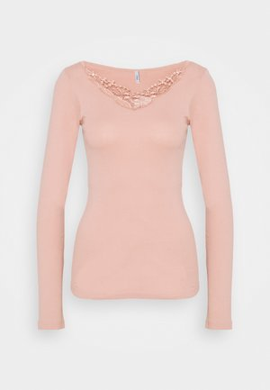 ONLKIRA LIFE TOP  - T-shirt à manches longues - misty rose