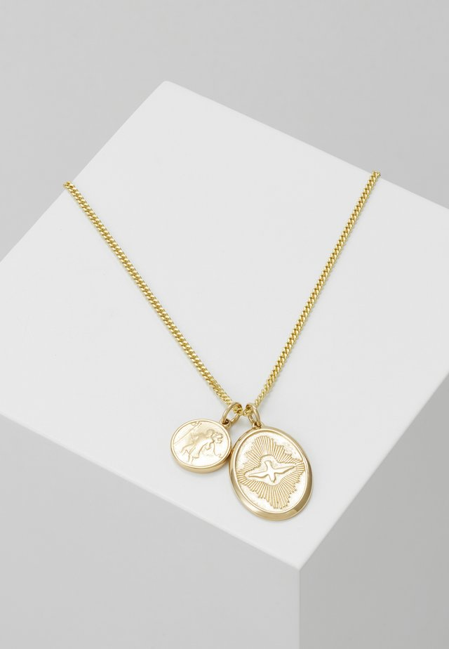 MINI DOVE PENDANT - Ketting - gold-coloured