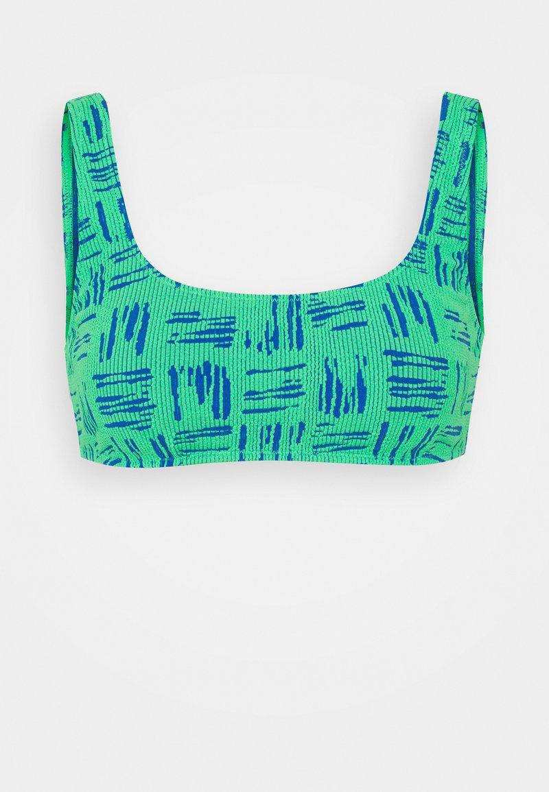 Seafolly - BODY CHECK TANK - Bikini top - fluro lime