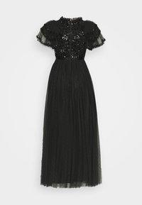 Needle & Thread - SHIRLEY RIBBON BODICE ANKLE DRESS - Společenské šaty - ballet black - 6