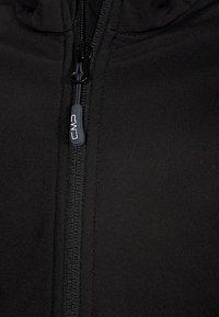 CMP - FIX HOOD - Soft shell jacket - nero - 2