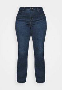 Levi's® Plus - 725 PL HR BOOTCUT - Straight leg jeans - bogota shake plus - 4