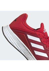 adidas Performance - DURAMO - Neutral running shoes - scarle/ftwwht/cblack - 9