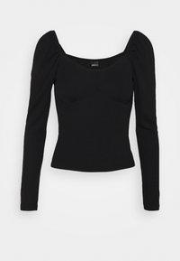 Gina Tricot - JENNIFER - Long sleeved top - black - 4