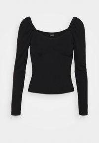 JENNIFER - Long sleeved top - black