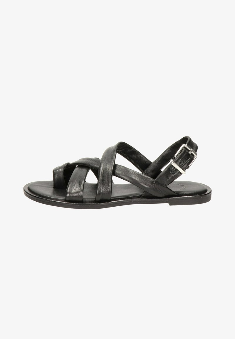 Nelson - Sandals - zwart