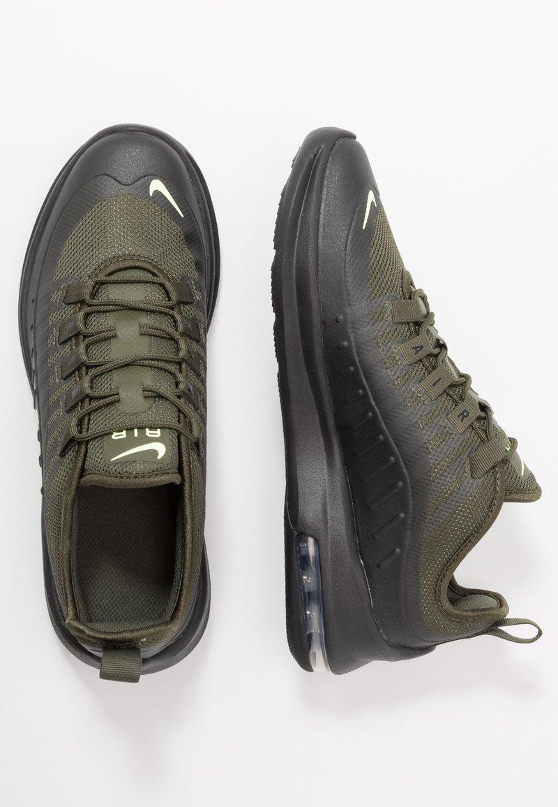Nike Sportswear - AIR MAX AXIS - Sneakers - cargo khaki/barely volt/black/white