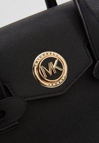 MICHAEL Michael Kors - FLAP SATCHEL - Handbag - black - 5