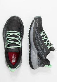 The North Face - W ULTRA ENDURANCE XF FUTURELIGHT - Trail running shoes - black/zinc grey - 1