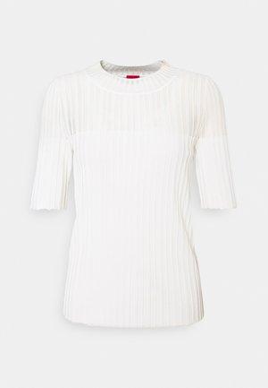 SHOMANY - T-shirt imprimé - natural