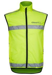 Craft - VISIBILITY VEST - Waistcoat - yellow - 0