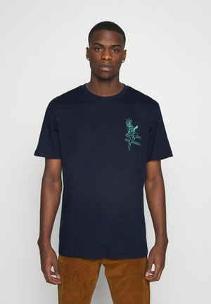 GRAPHIC  UNISEX - Print T-shirt - navy