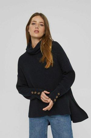 ROLLKRAGEN - Stickad tröja - black
