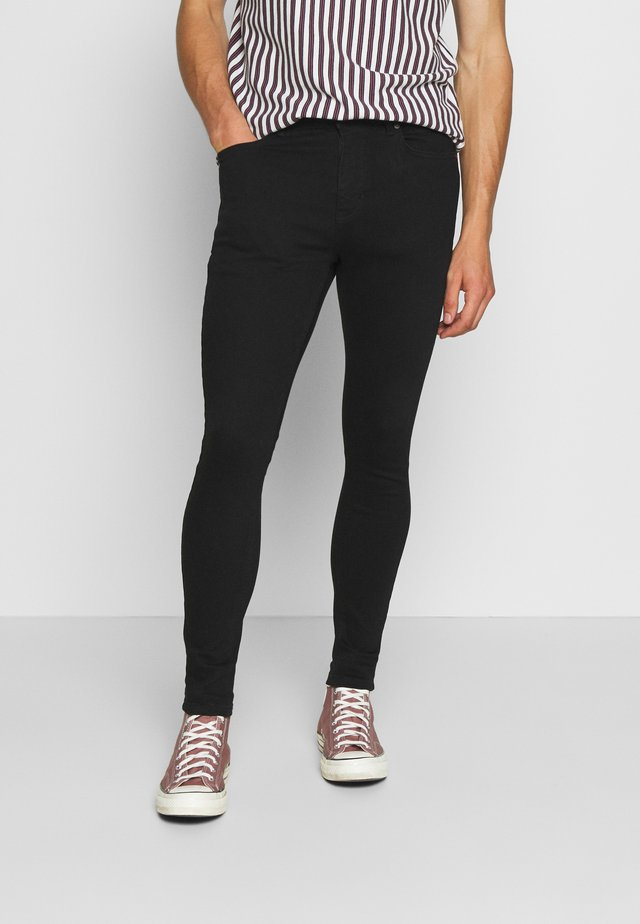 ESSENTIAL SUPER STRETCH - Jeans Skinny Fit - jet black