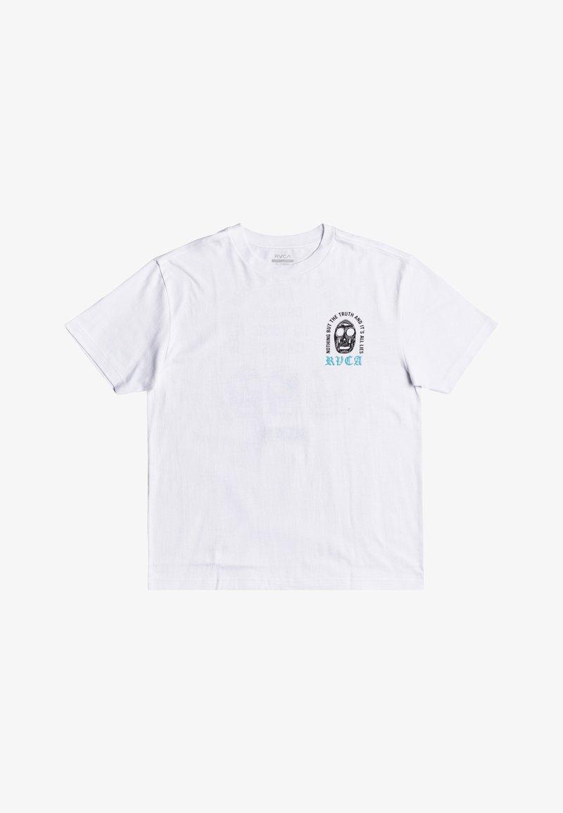 RVCA - SUPERBLAST CHAOS  - Print T-shirt - white