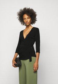 By Malene Birger - SHANELLE - Long sleeved top - black - 0