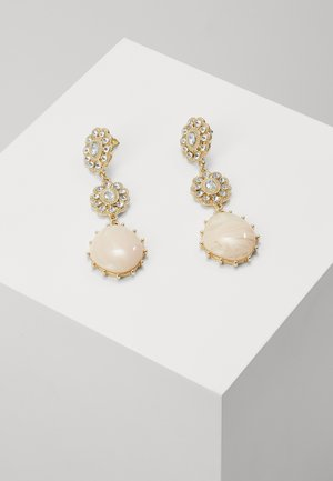 TRIPLE DROP - Earrings - pink