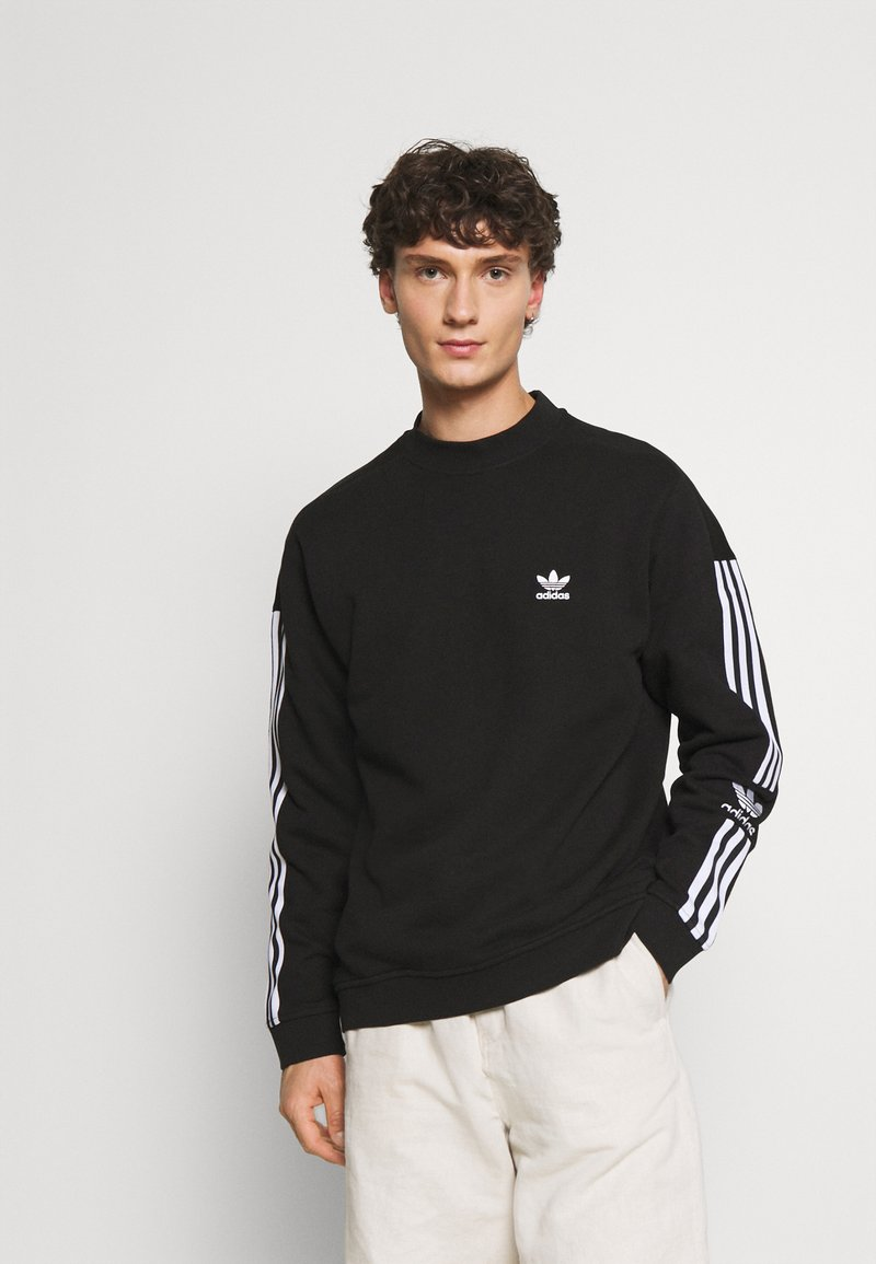 adidas Originals - LOCK UP CREW UNISEX - Sweatshirts - black