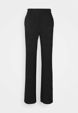 SLFRITA WIDE PANT - Trousers - black